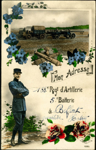 Belfort, 188e Regiment d'Artillerie, 5e Batterie, Quartier Hatry.