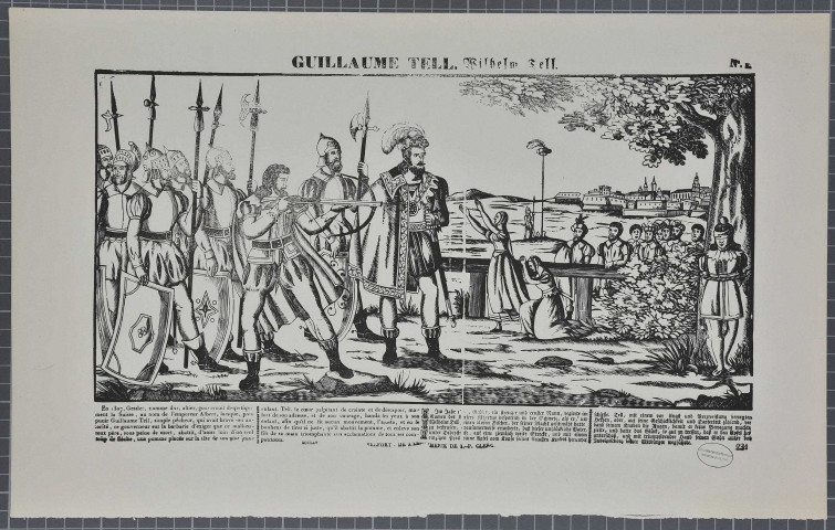 « Guillaume Tell. Wilhelm Tell, n°1 ».