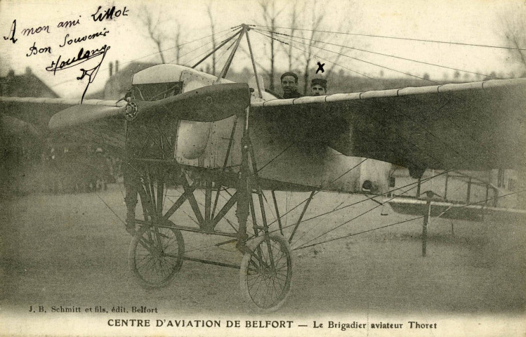 Centre d'aviation de Belfort.